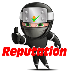 Reputation Management Ninja - Red