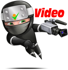 Red video marketing ninja