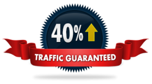 40% traffic increase guarantee